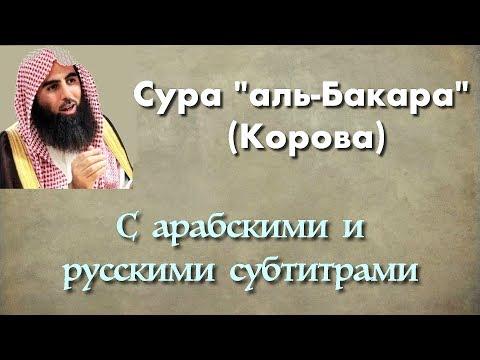 Сура 2 - Бакара (арабские и русские титры) - Мухаммад Люхайдан