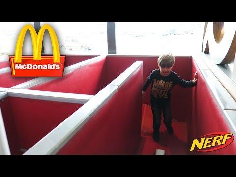 Having Fun at McDonald's Gym