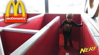 Having Fun at McDonald's Gym