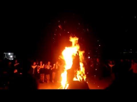 Màn đốt lửa trại tại trường Dự bị Sầm Sơn  21.3.2016 - VIET