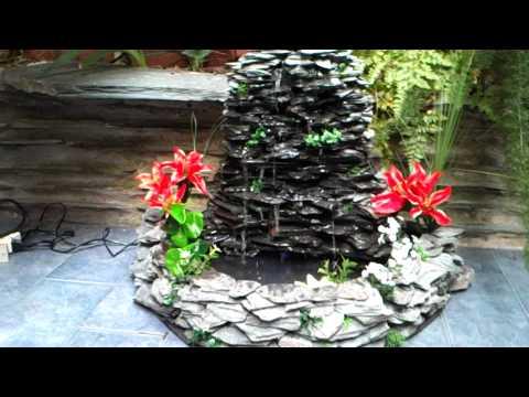 Cascada artificial con estanque piedra de monta a doovi for Cascada artificial casera