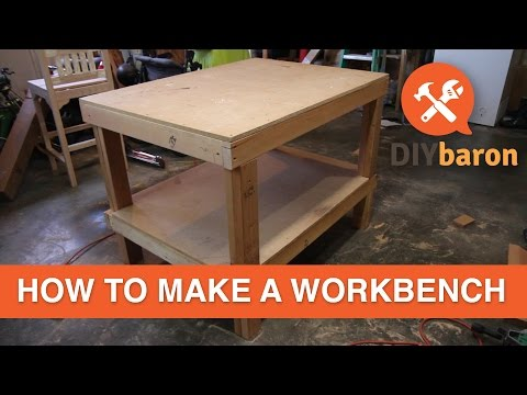 how to build a workbench youtube