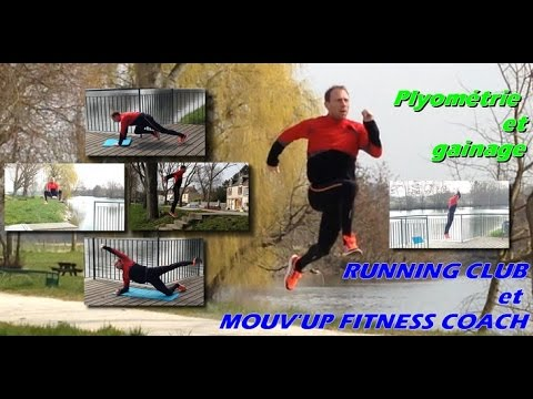 pliom trie et gainage running club mouv 39 up youtube. Black Bedroom Furniture Sets. Home Design Ideas