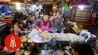 Feast Your Eyes on Korea's Oldest Street Food Market