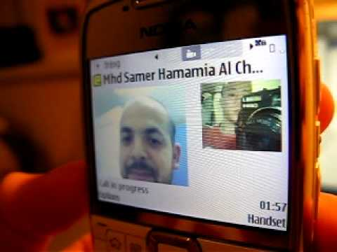 VIDEO CALL from Iphone 4 to Nokia E71