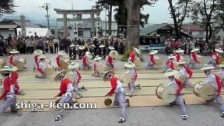 Ibuki Yama Taiko Odori Drum Dance 2010 伊吹山奉納太鼓踊り