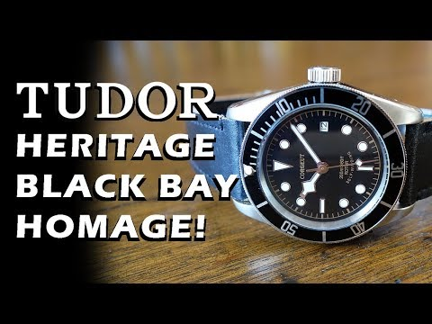 Corgeut 41mm Automatic Dive Watch Review - Tudor Heritage Black Bay Homage - Perth WAtch #94