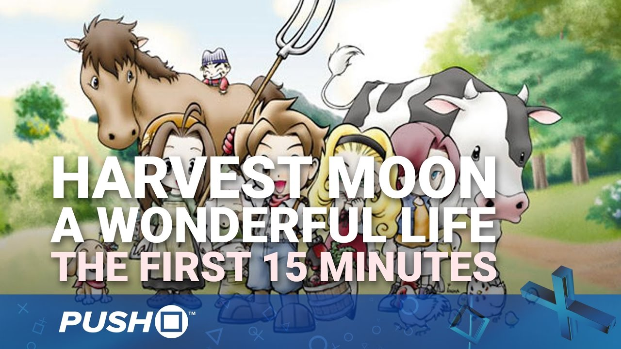 Harvest Moon A Wonderful Life Ps4 The First 15 Minutes