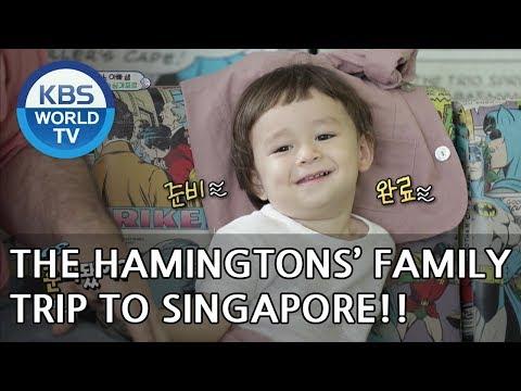 The Hammingtons' family trip to Singapore!! [The Return of Superman/2018.07.22]
