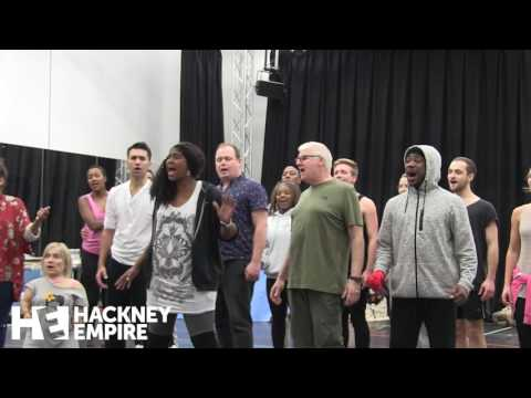 Sleeping Beauty in rehearsal - Hackney Empire's 2016 Panto!