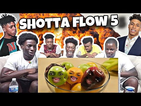 NLE Choppa – Shotta Flow 5 (Dir. by @_ColeBennett_) *REACTION*