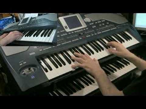 Korg Pa800 Piano Demo