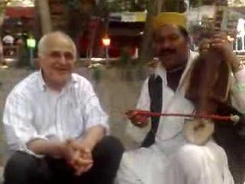 Afghan street musician in Torghabeh, Mashhad, Iran (part 2)
