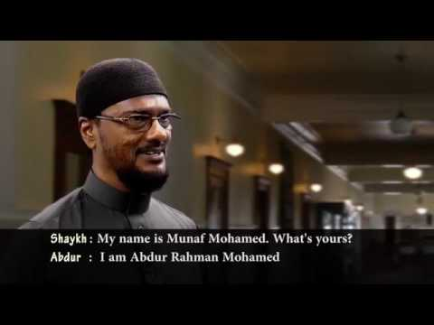 Latihan Perkenalan dalam bahasa arab