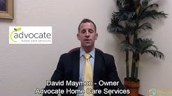 David Maymon Owner of Advocate Home Care Services  - Treasure Island, Florida