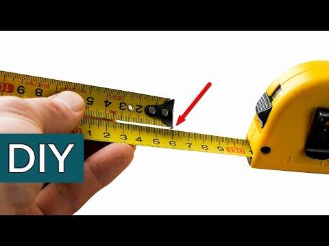 Секреты строительной рулетки. Вы знаете о них? #стройхак