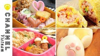Làm cho bữa trưa của con bạn vui hơn!