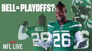 Le'Veon Bell isn't enough for the Jets to make the playoffs in 2019 - Louis Riddick | NFL Live