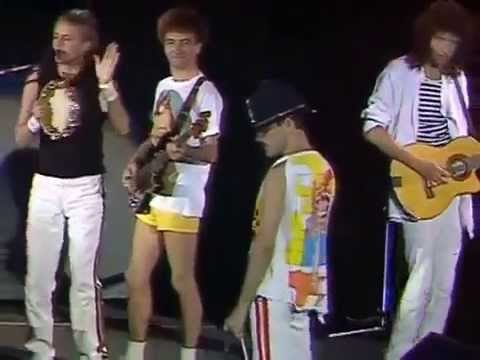 Queen live Wembley 1986 Rock'n Roll Medley (two parts)