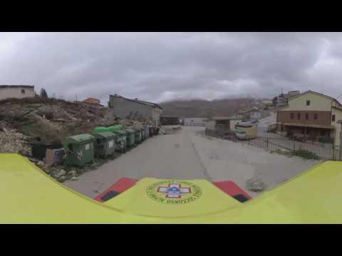 Terremoto, la telecamera a 360 gradi: entriamo a Visso, Castelluccio e San Severino