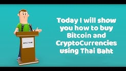 How To Buy Bitcoin and Cryptocurrencies In Thailand With Thai Baht THB