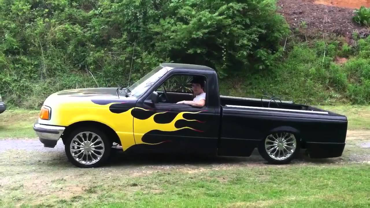 Lowrider Ford Ranger Youtube