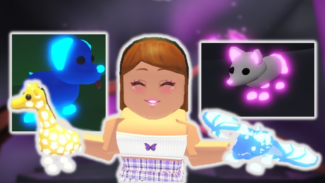Every Neon Pet In Adopt Me Roblox Youtube