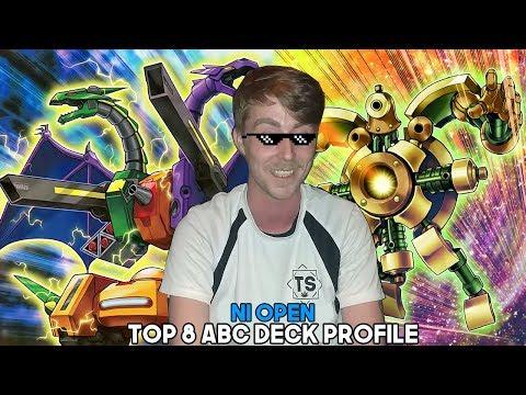 Top 8 NI Open ABC Deck Profile - Andy Ward