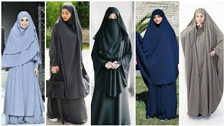 Simple abaya hijab designs