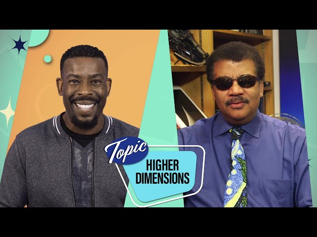 Higher Dimensions with Neil deGrasse Tyson