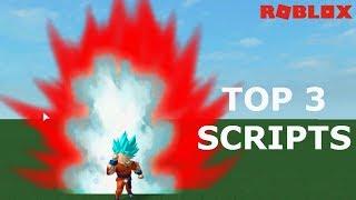 TOP 3 Mejores scripts * no hack * (versão Goku)-Roblox