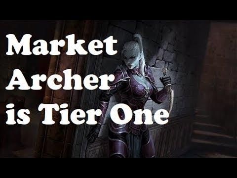 Market Archer is Tier One | Elder Scrolls Legends