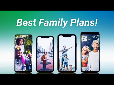 Best Family Cell Phone Plans For 4 Lines!