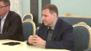 Встреча Архипова с губернатором Приморья