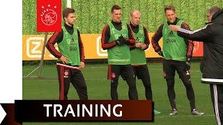 Veel strijd tijdens training Ajax