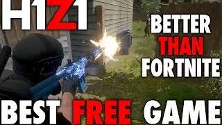 H1Z1 PS4 LE MEILLEUR JEU GRATUIT - BETTER THAN FORTnite? SOLO WIN NUMBER 3 AVEC 10 FRAGS