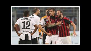 AC Mailand: Gonzalo Higuain nach Ausraster gegen Juventus gesperrt