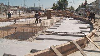 В Серпухове продолжается масштабная реконструкция привокзальной площади