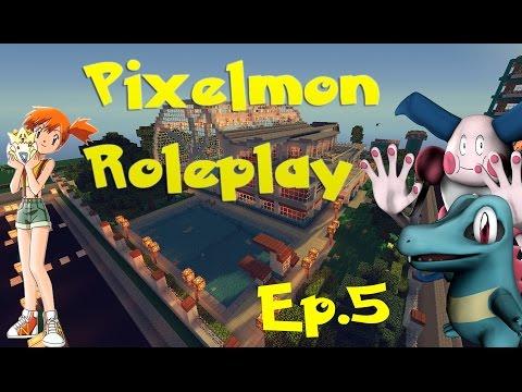 "Pixelmon Roleplay Episode 5 ""Cerulean Brawl"""