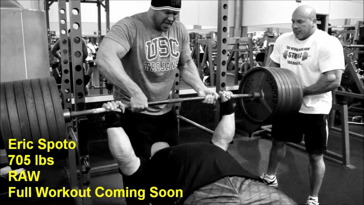 Eric Spoto's Training Routine & Methods for a World Record Bench ...