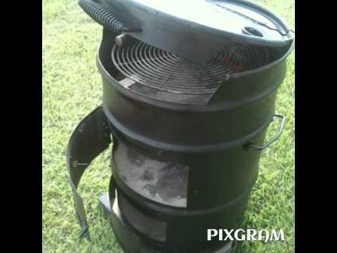 Como hacer un asador con un barril youtube - Como hacer un asador ...