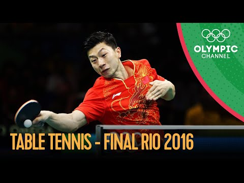 Table Tennis - Team Gold Medal Match 🇨🇳🆚🇯🇵 Full Match | Rio 2016 Replays