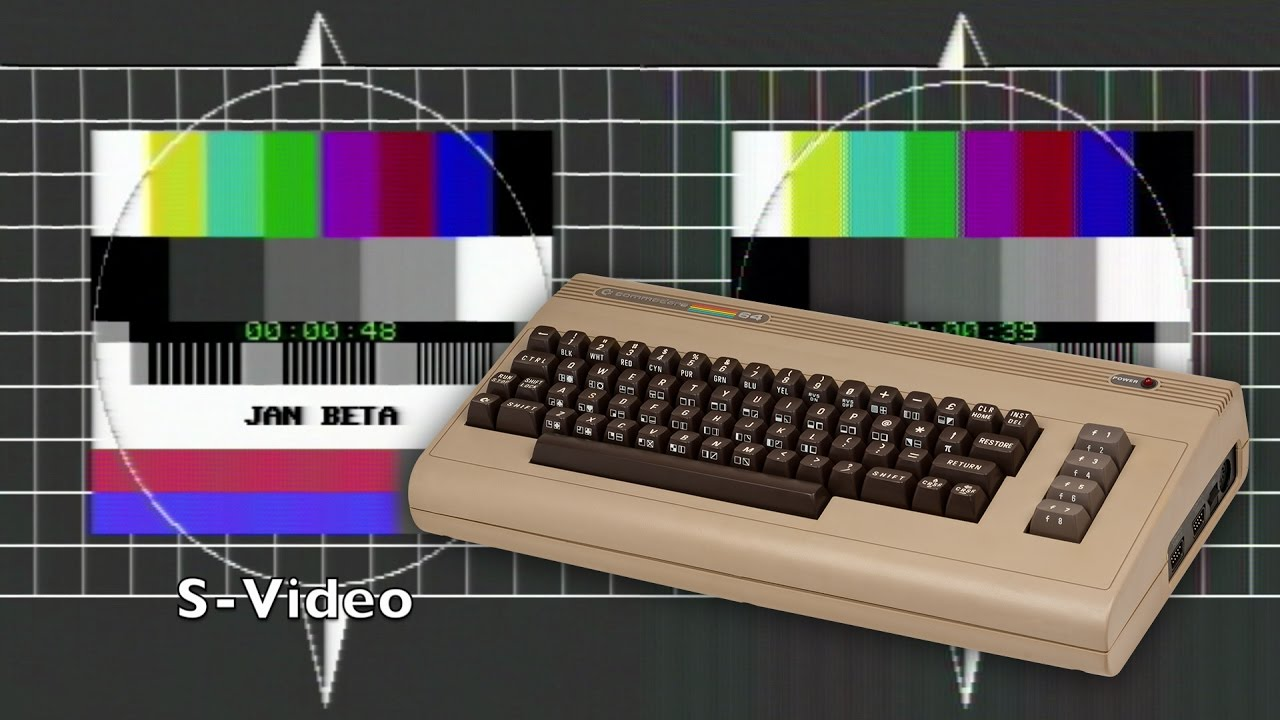 Making a Commodore C64 S-Video Cable