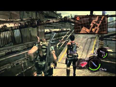 Gaming With Jin - Resident Evil 5 - Drilling Facilities - Part 11