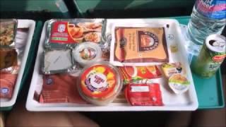 インド 特急列車の機内食