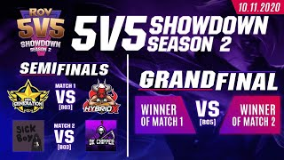 RoV 5v5 Showdown Season 2 | Finals Round