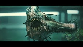 """Этот вид пираний исчез более двух миллионов лет назад.Момент из фильма """"Пираньи 3d"""""""