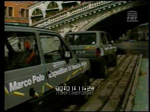 Raid Venezia-Pechino (Marco Polo Expedition - FIAT Panda 4x4 / Iveco Daily-VM 90) \ 1985 \ ita