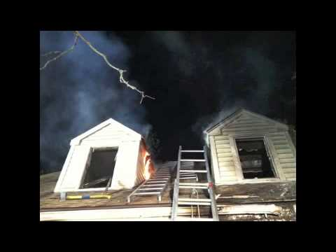 A 911 call alerts Fairfield emergency crews of Monday's fire.
