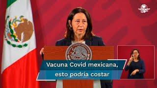 Sylvia Lorena Varela Ramón, presidenta y directora general de AstraZeneca México, señaló que los costos de manufactura son menores a los que se registran en Europa